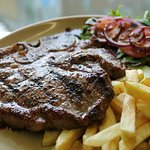 Our food... T bone Steak