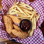 Chicken Tenders & Fries w/BBQ