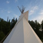 Spend a night in the teepee ... fabulous experience