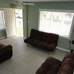 2 BR House Living Room