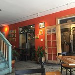 Fresh, lively with Caribbean/Asian flavours.  Staff is fabulous, food is so healthy.  Had the fu