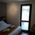 Chambre double avec terrasse - côté laurière