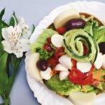 Salada Na Casquinha