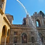 Fountain at Real Alcazar