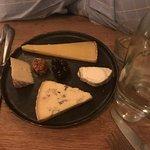 wonderful cheese plate