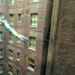 Trapeze manequin