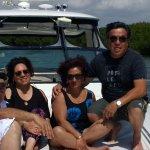 Un paseo en yate fabuloso no quisiera irme de Cancún es lo más lindo de todos mis viajes lo reco
