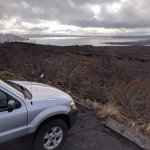 Ford Escape with rooftop tent