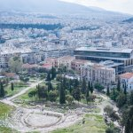Theatre of Dionysos and New Acropolis Museum, South Slope of the Acropolis