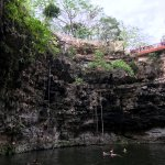 Underground river for swimming