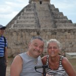 We were really there. Main Pyramid in background