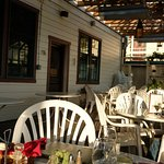 Pet-friendly patio dining