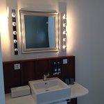 Bathroom area of Room 531
