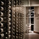 Voyagers Wine Wall with over 125 selections to choose from