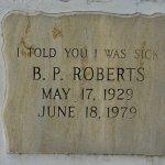 B.P.Roberts