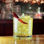 Chipotle Honey Manhattan Cocktail
