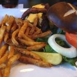Come in today and try our Clubhouse burger!