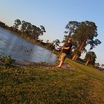 Golf course fishing