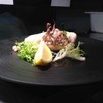 Fresh grilled calamari @Vesuvio