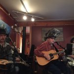 Blue grass music at the Drift Inn