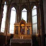 interior of the Frari Basilica