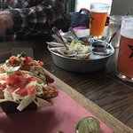 Fish tacos, oysters, and craft beer