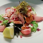 Eden smoked trout salad