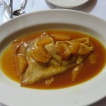 Crepe Suzette -- Dessert