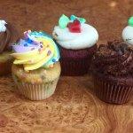 mini Cupcakes! the perfect bite size treat!