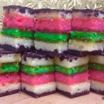 There is no comparison, our Rainbow cookies are not like any others you've ever had! Really a mu