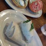 We had the perch sandwich & chicken salad sandwich. I loved my chicken salad sandwich!
