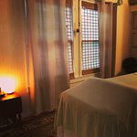 Treatment rooms at the Secret Garden Gallery location
