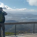 Spectacular views from the Mount Wellington summit
