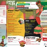 JAMROC Jamaican Jerk Chicken Menu