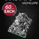 60cent Wings Wednesdays - Dine In Special