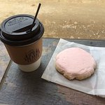 The Pink Cookie...the perfect coffee cookie!