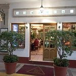 This is a small, handsome restaurant; stylish and spotlessly clean; a great find