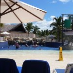 Wave pool at Water Park
