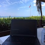 Working with the view from Coconuts.
