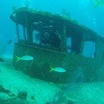 Harris in Wreck