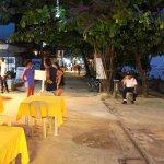 Lost Horizon Beach Dive Resort Restaurant at Night