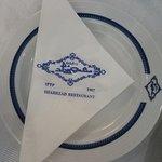 signature napkin