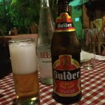 a nice cold Ghanan beer on a hot night