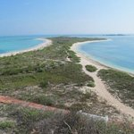 View to the north from Fort Jefferson