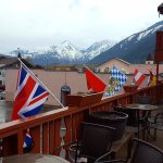 Obertal Inn - 2nd Fl patio and view