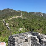 Pictures from our layover tour today! Wonderful day to walk around the Great Wall, with amazing