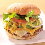 Premium Avocado Burger