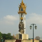 Photo de Cambodia-Vietnam Friendship Monument