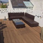Room 501 (Atelier) -- Private rooftop terrace