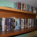 Genug Videokassetten für gute Unterhaltung